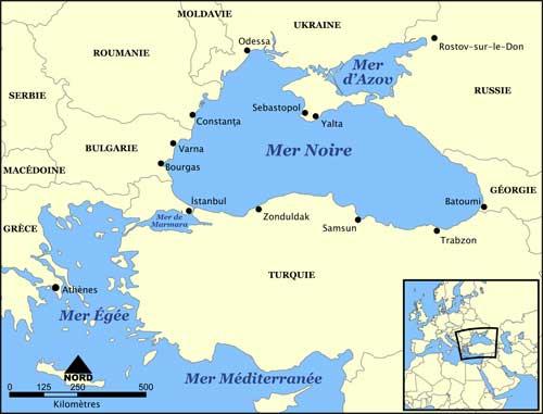 L'Ukraine accuse la Russie de s'être emparée de trois navires militaires